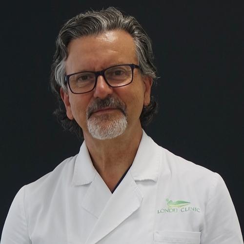 GIORGIO LONDEI Direttore Sanitario LondeiClinic. Specialista in Chirurgia Plastica e Dermatologia.